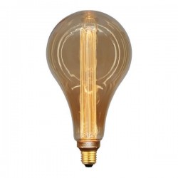 ΛΑΜΠΑ LED ΑΧΛΑΔΙ P165 3,5W Ε27 2000K 220-240V GOLD GLASS DIMMABLE