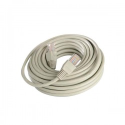 PATCH CORD  UTP CAT-5e 26AWG ΓΚΡΙ 3m