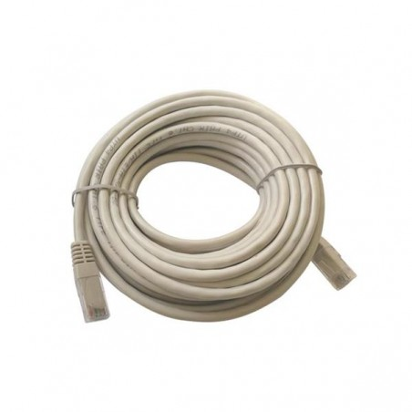 PATCH CORD  UTP CAT-5e 26AWG GREY 15m