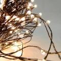 LED Λαμπάκια σε Χαλκό Εξωτερικού Χώρου Σειρά Σταθερά